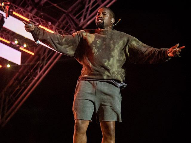 Rapper Kanye West has been born again. (AP Photo)