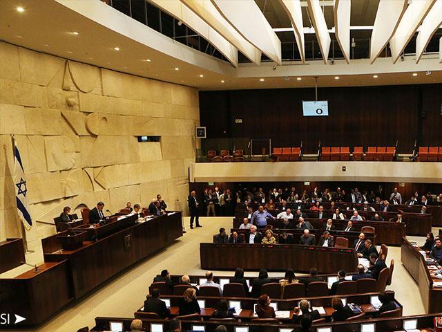 Knesset Passes Regulation Bill, Courtesy TIP, David Michael Cohen