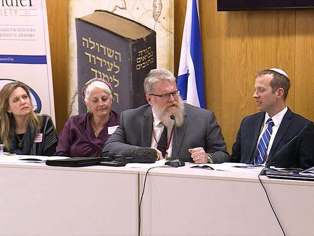 Jews and Christians Study the Bible at Israel's Knesset, Photo, CBN News
