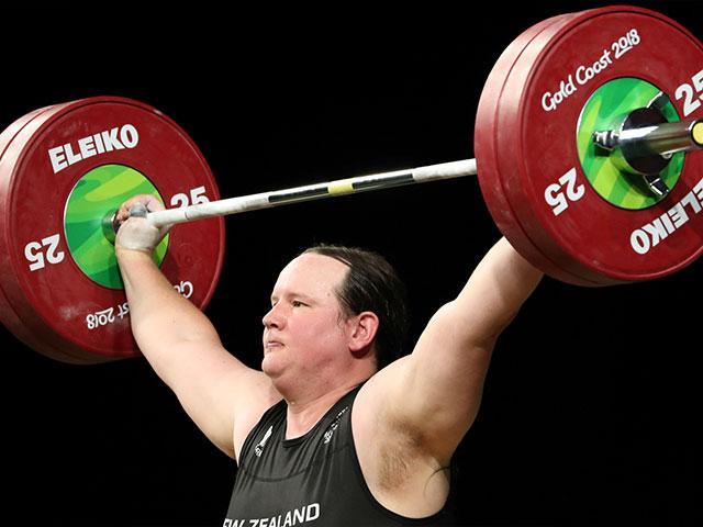 New Zealand's Laurel Hubbard is a transgender weightlifter (AP Photo/Mark Schiefelbein)