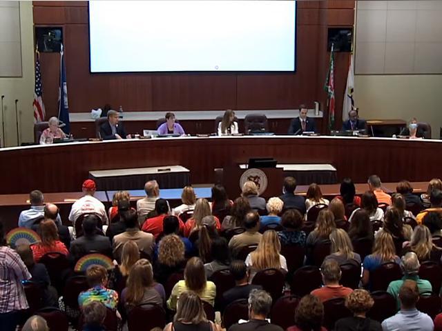 YouTube Screenshot/Loudoun County School Board Meeting
