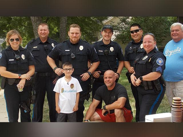 Blue Springs Police Department with Brecken Simmons