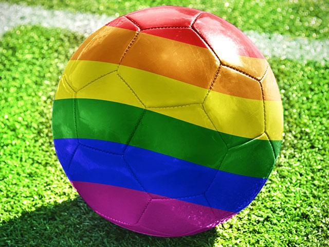 LGBT Rainbow Soccer