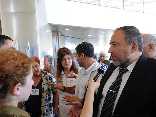 Avigdor Lieberman, Courtesy GPO, Moshe Milner
