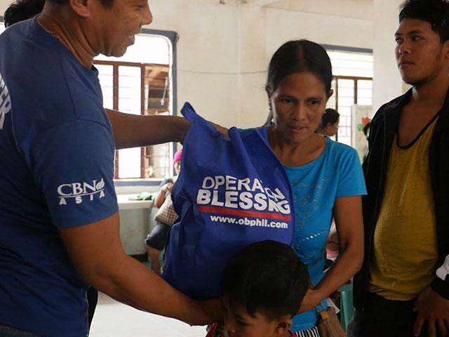 Helping Taal Volcano victims in the Philippines