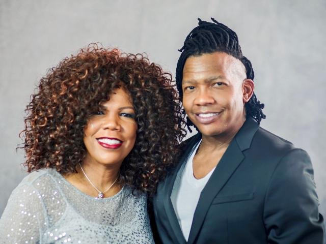 Lynda Randle and Michael Tait