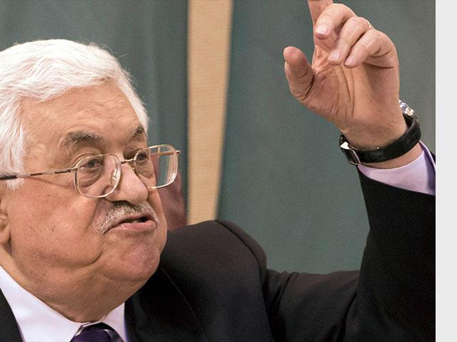 Mahmoud Abbas, Associated Press image