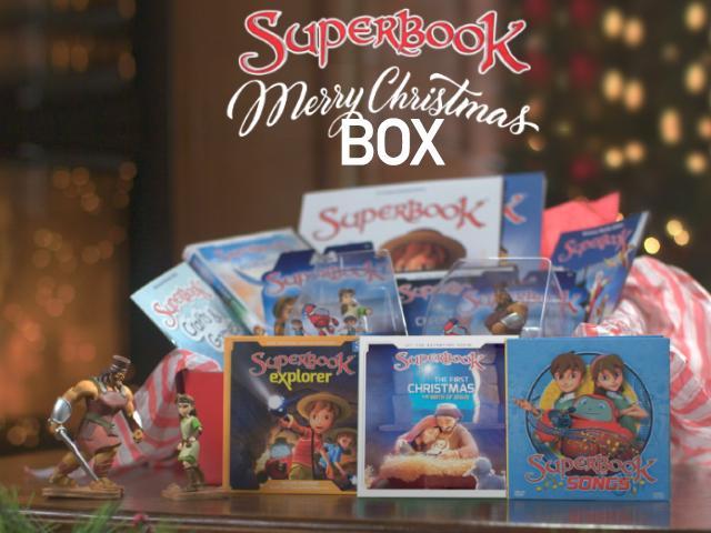 Superbook Christmas Box