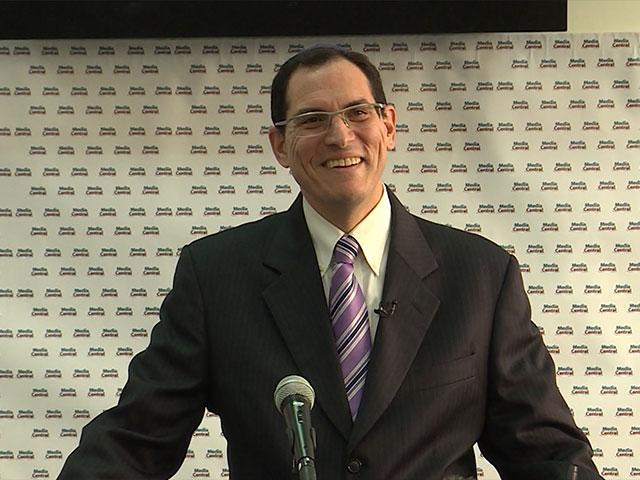 Israeli Pollster Mitchell Barak, CBN News image