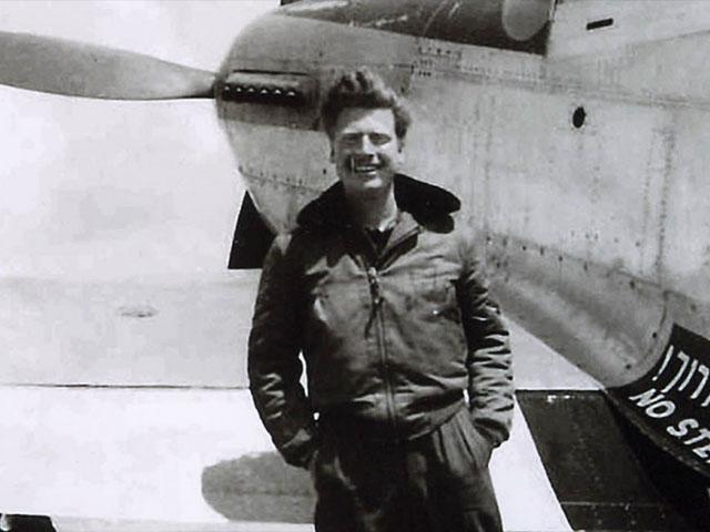 US Navy Pilot Mitchell Flint