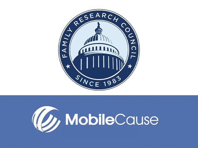 Image source: Family Research Council/Mobile Cause