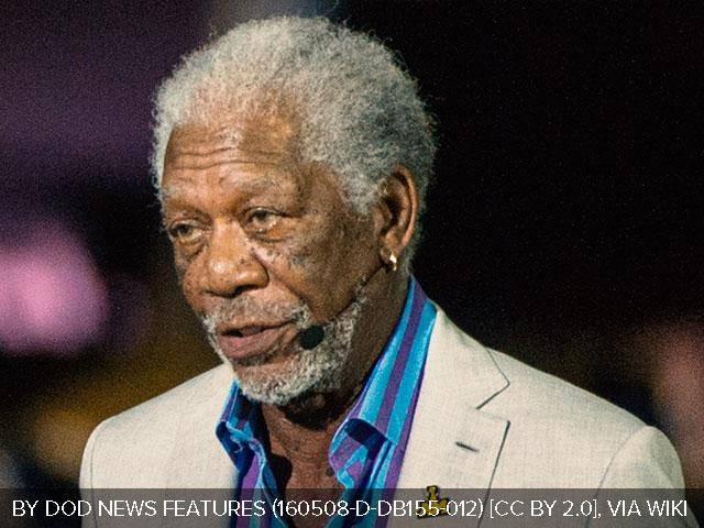 Morgan Freeman, Courtesy Wikipedia