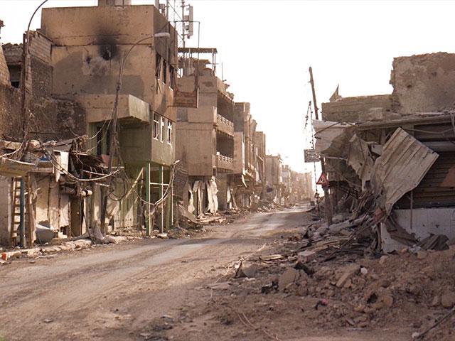 Mosul Destruction, Photo, CBN News, Jonathan Goff