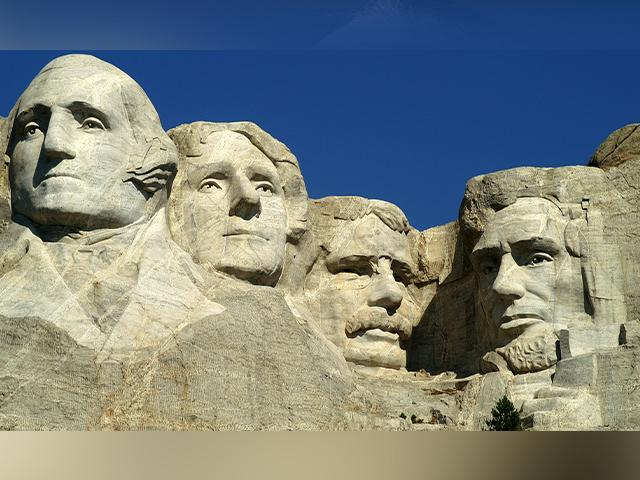 Mt. Rushmore monument in South Dakota