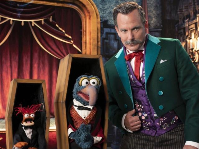 Muppets Haunted Mansion Gonzo Will Arnett