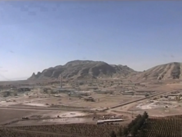 AP Video Screenshot: Exterior of Natanz nuclear facility in Irana