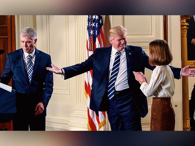 Presidente Trump y el nominado a la Corte Suprema, Neil Gorsuch.