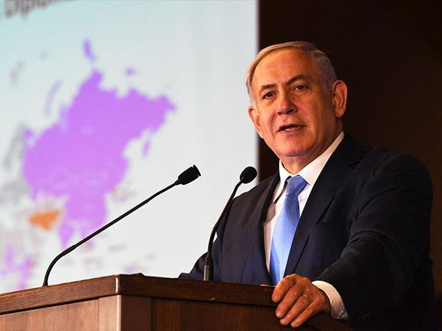 Israeli Prime Minister Benjamin Netanyahu Addresses Conference of the Presidents of Major Jewish Organizations, Photo, GPO, Kobi Gideon