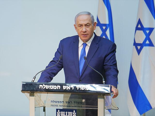 Israeli Prime Minister Benjamin Netanyahu, Photo, CBN News, Jonathan Goff