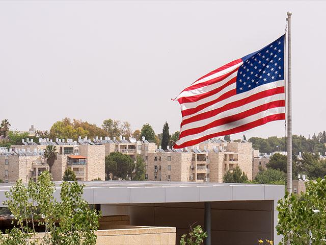 US Embassy in Jerusalem, Photo, CBN News, Jonathan Goff
