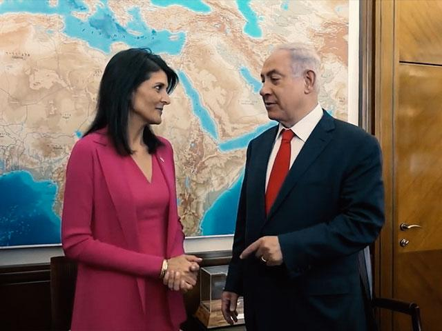 US Ambassador to the UN, Nikki Haley
