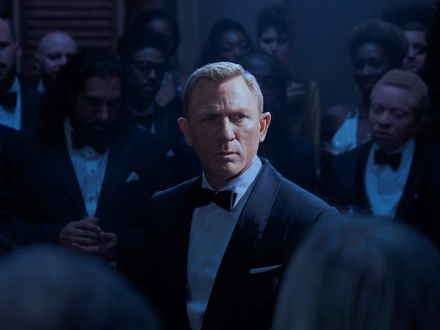 Daniel Craig in movie No Time to Die