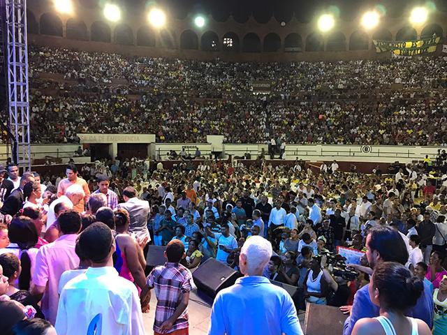 Noche de milagros en Cartagena.