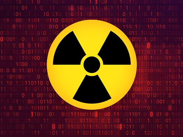 nuclear cyber hacking (modified Adobe Stock image)