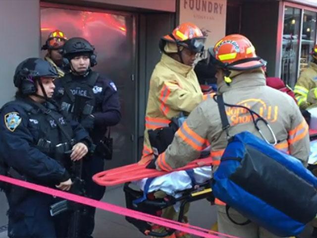 Explosión en Times Square