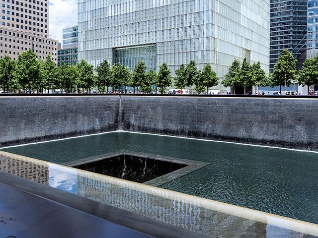 National September 11 Memorial in Manhattan, New York City,