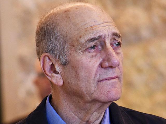 Former Israeli Prime Minister Ehud Olmert, Photo, AP