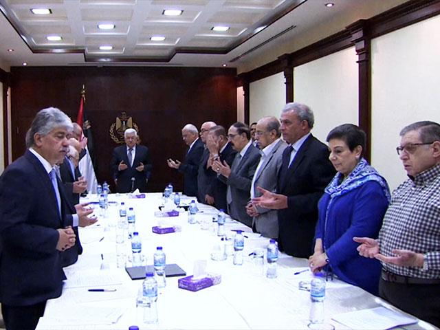 Palestinian Authority government, CBN News image
