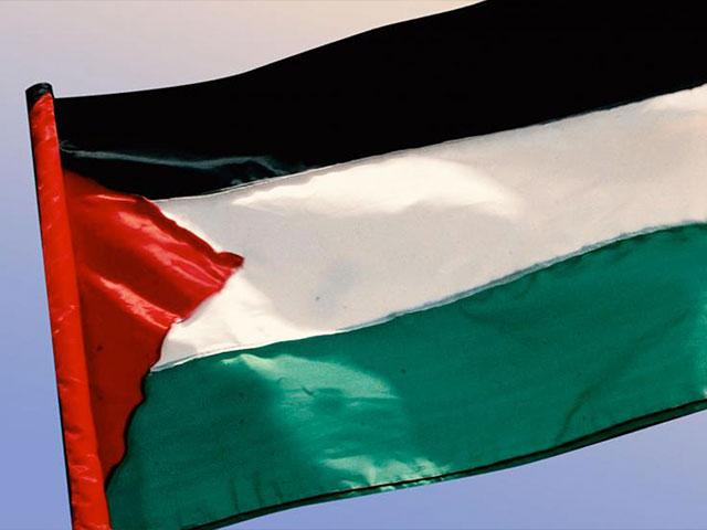 Palestinian Authority Flag, Photo, CBN News archive