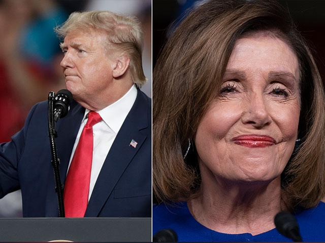 President Donald Trump and House Speaker Nancy Pelosi (AP Photo)