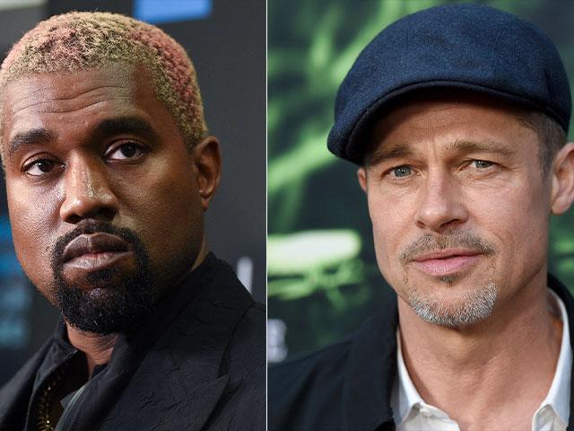 Brad Pitt/Kayne West