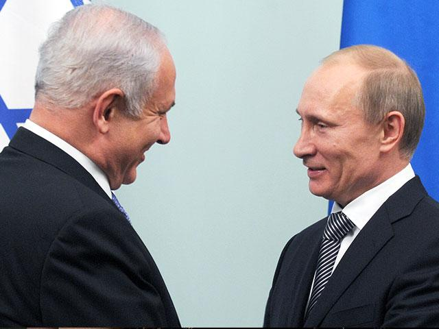 Israeli Prime Minister Benjamin Netanyahu and Russian President Vladimir Putin, Photo, GPO archive, Avi Ohayon