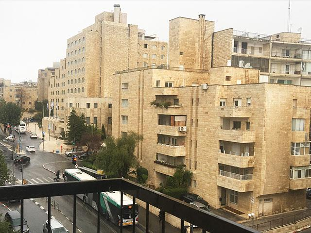 Rainy Morning in Jerusalem, Photo, CBN News