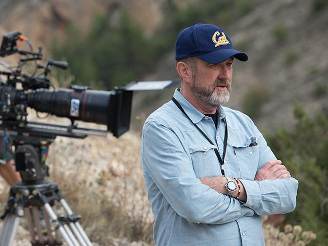 Executive Producer Ralph Winter on the set of The Promise