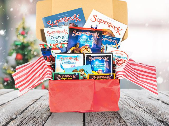 Superbook gift for a military family