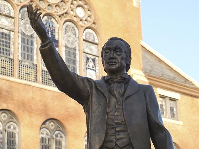 Richard Allen statue