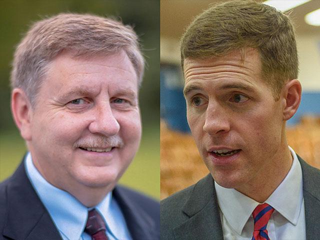 Republican Rick Saccone, left, has conceded to Democrat Conor Lamb in a special congressional election in southwestern Pennsylvania.