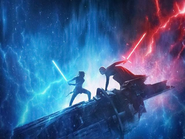 Rise of Skywalker movie