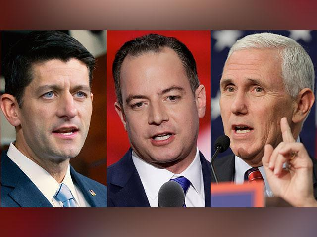 Paul Ryan Reince Priebus Mike Pence