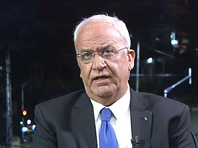 PLO Secretary General Saeb Erekat, Screen Capture
