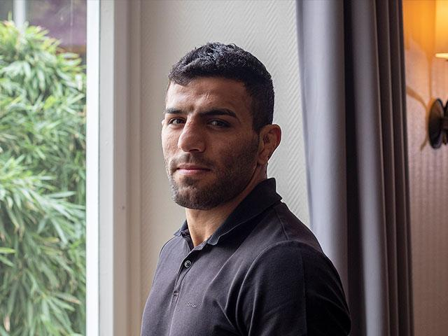 Iranian Judoka Saeid Mollaei from an undisclosed location in Germany/ Associated Press
