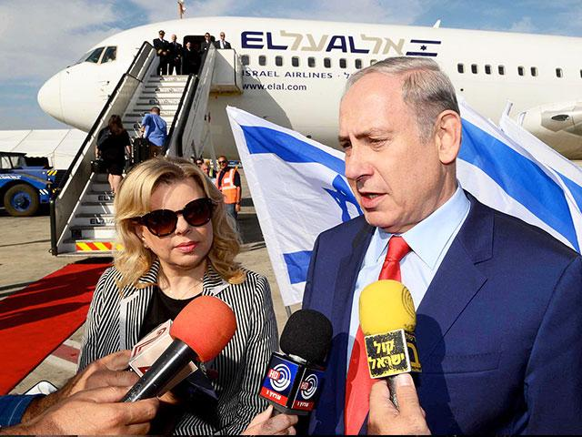 Prime Minister Benjamin Netanyahu and His Wife, Sara, Photo, GPO, Avi Ohayon