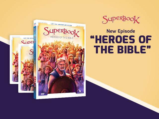Superbook: Heroes of the Bible