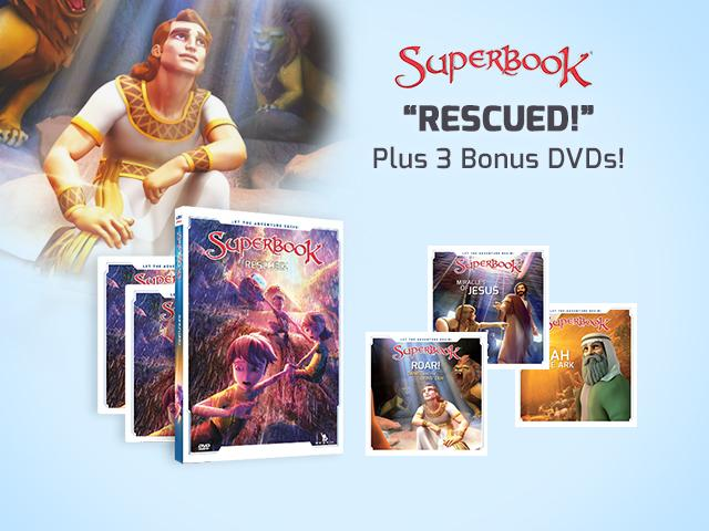 Superbook Rescued Daniel