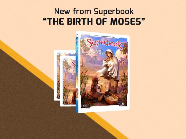 Superbook: The Birth of Moses