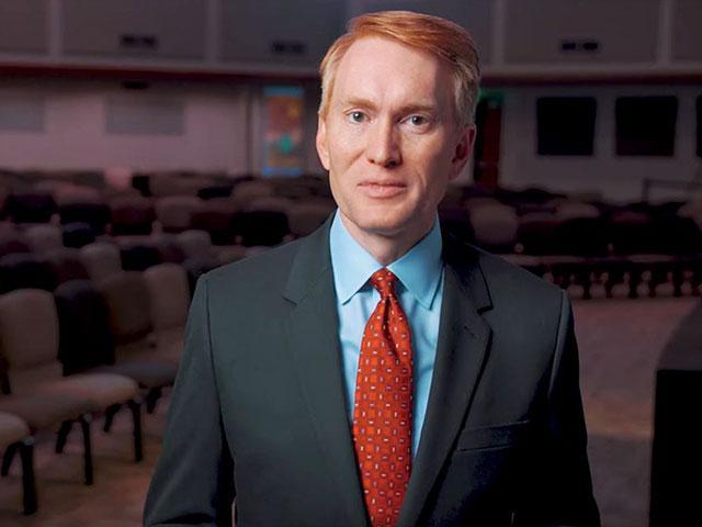Republican Senator James Lankford, Photo, Screen Capture